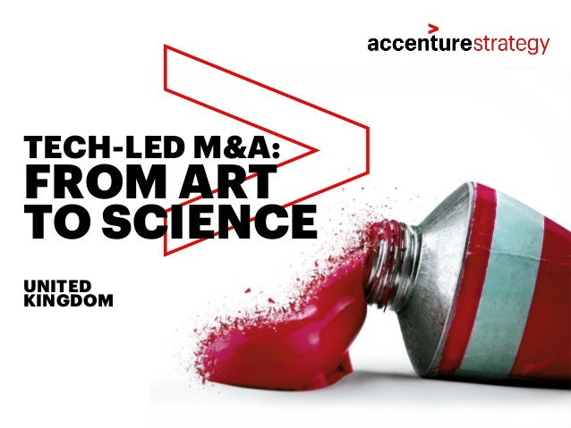 FROM ART TO SCIENCE TECH-LED M&A: UNITED KINGDOM