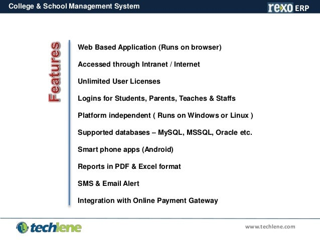 School and College Management System