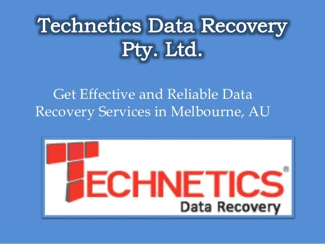 Get Effective and Reliable Data Recovery Services in Melbourne, AU