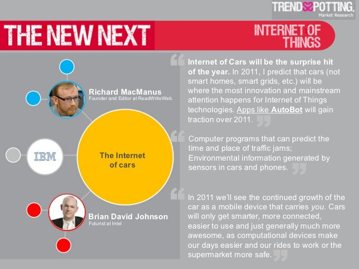 The New Next: 2011 Tech Influencers Predictions by TrendsSpotting  Slide 3