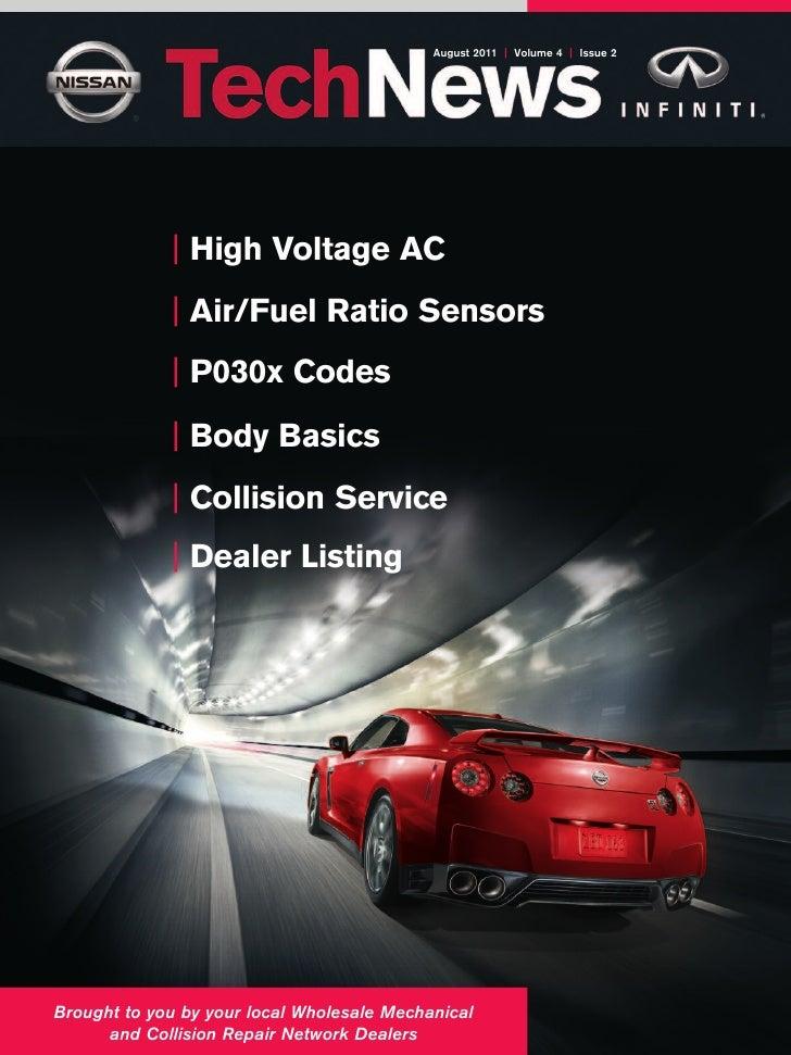 August 2011 | Volume 4 | Issue 2             | High Voltage AC             | Air/Fuel Ratio Sensors             | P030x Co...