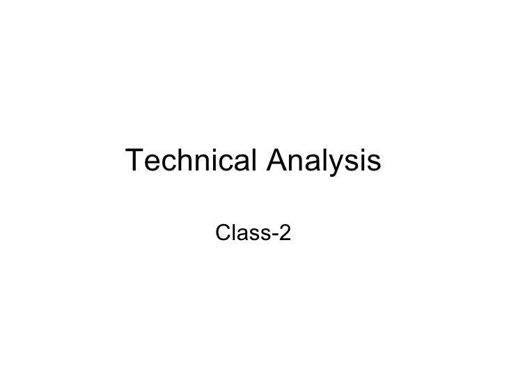 Technical Analysis Class-2