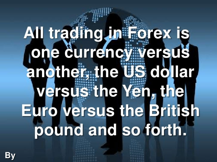 Technical analysis of forex