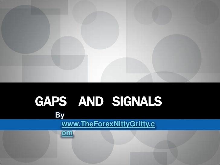 Gap forex definition