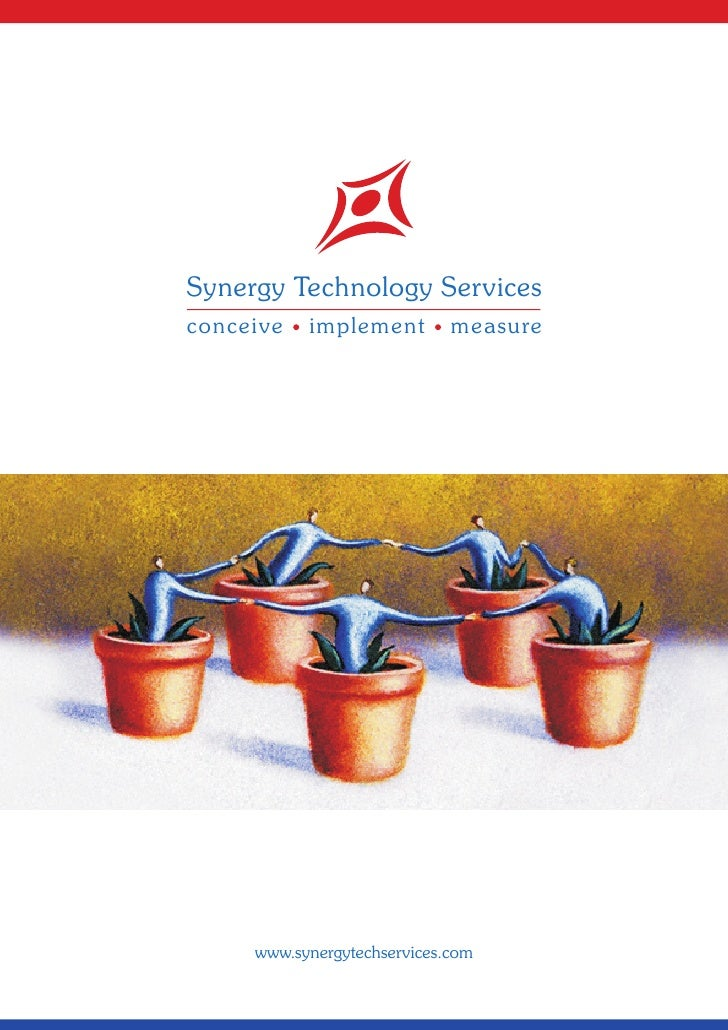 Synergy Technology Services conceive   implement         measure          www.synergytechservices.com