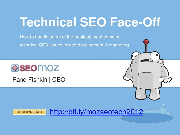 Technical SEO Face-Off  How to handle some of the nastiest, most common  technical SEO issues in web development & marketi...