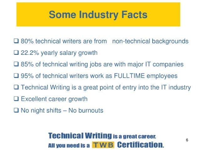 Technical Writing is a Great Career