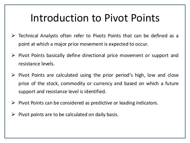 Technical Analysis using R Software - Calculating Standard Pivot Poin…