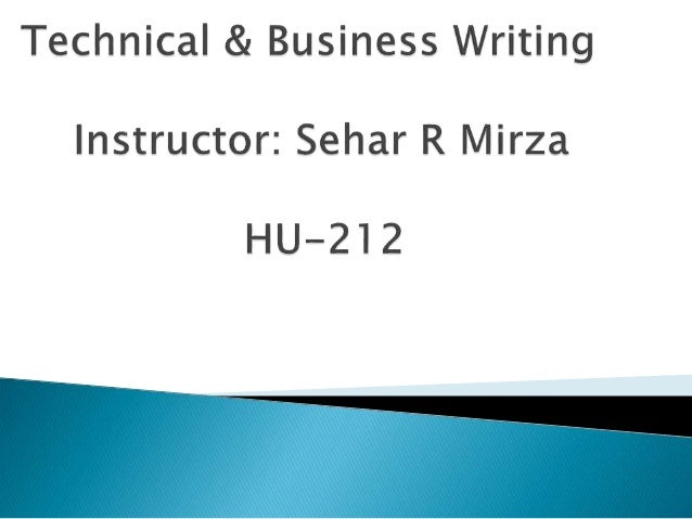 technical and business writing Technical writing concerns written communications done on the job, especially in fields with specialized vocabularies.