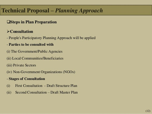 Technical and Financial Proposal-Consultancy Services for the Prepara…
