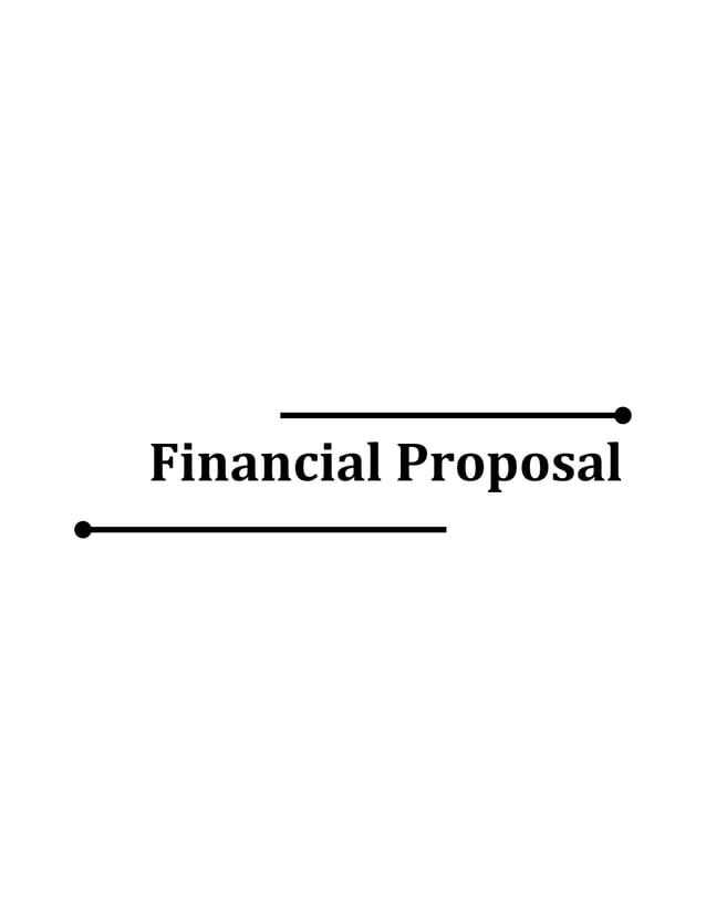 Financial Proposal