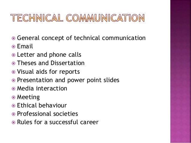 Technical communication dissertations