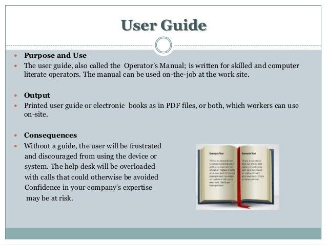 technical documentation menu rh slideshare net user guide documentation tools user manual documentation tool