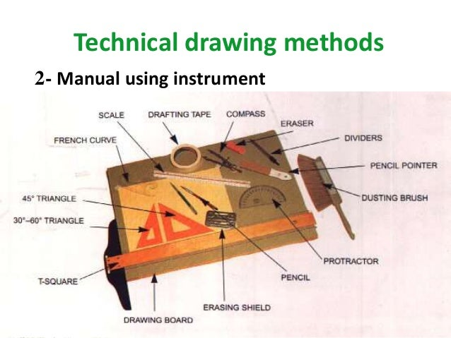 Technical drawing tool