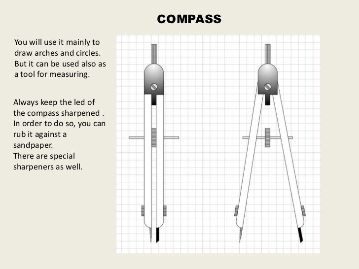 Technical drawing tools
