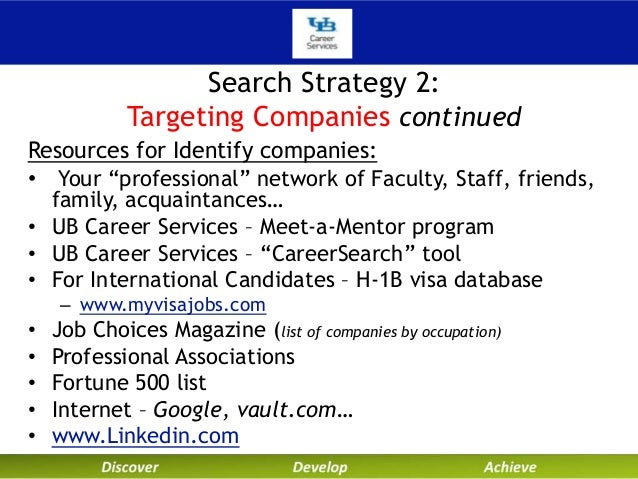 technical and internship search fall2013