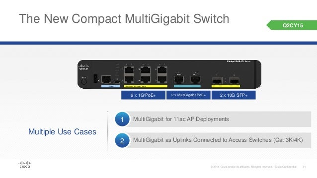 Technical overview of new cisco catalyst multigigabit switches
