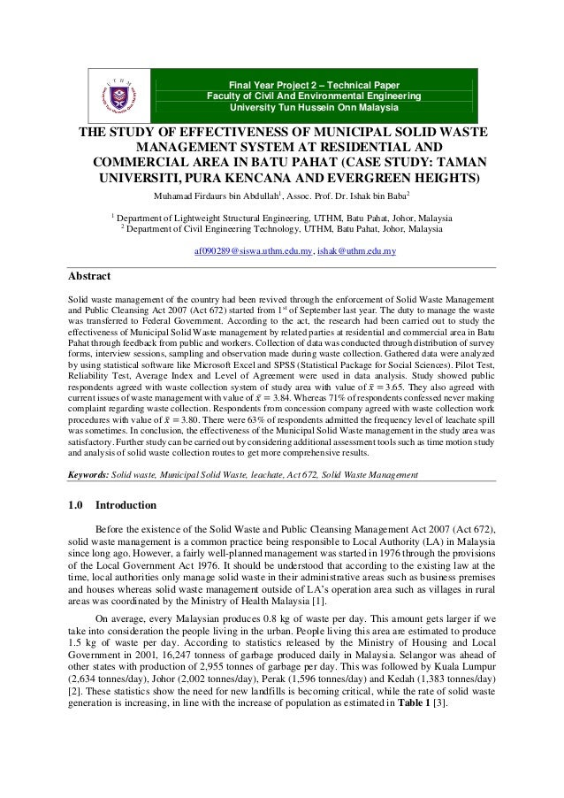 International Journal of Integrated Waste Management, Science and Technology