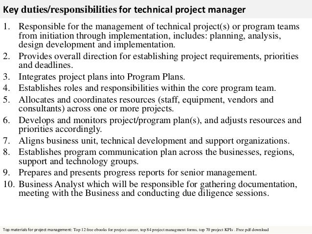 7 fields related the above project job description. sample resume ...
