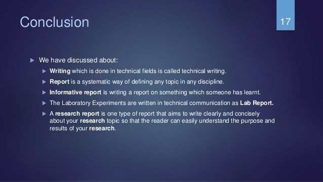 types of technical report writing I'm talking about technical writing, but the idea can be applied to other styles of writing some writers would rather try to impress you with complicated words as opposed to simply communicating an idea or concept.