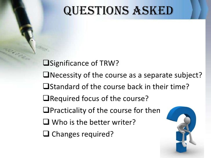 Technical Report Writing and Presentation Skills Course Outline    The Open University