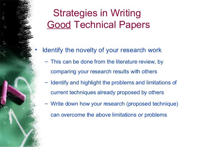 how to write technical paper Sanjay singh, department of i&ct, mit, manipal, india technical writing writing an introduction ii give a brief summary of your findings style use past tense except when referring to established facts.