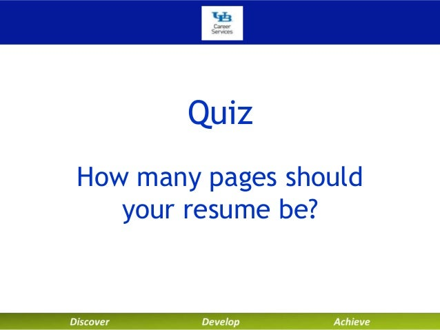 Resume Tips How Many Pages Curriculum Vitae Sample