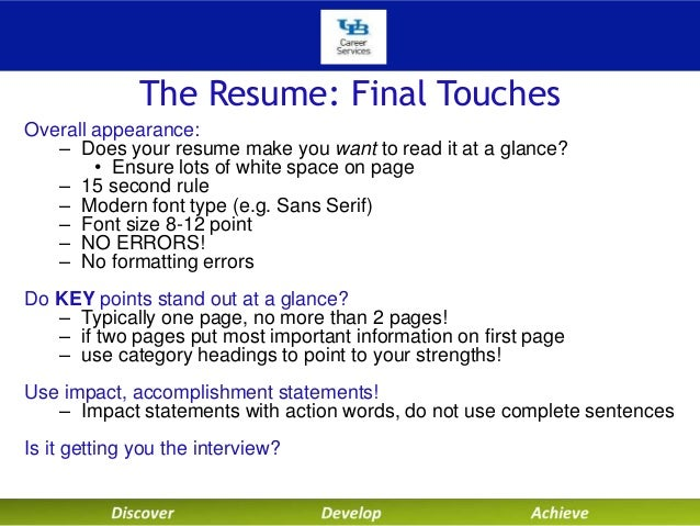 Technical Resumes With Dean Liesl Folks Fall2014 Sept