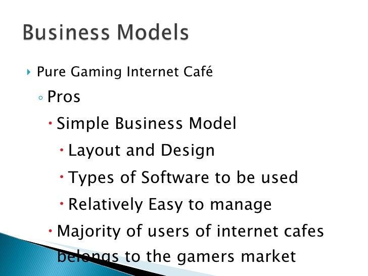 internet cafe business model