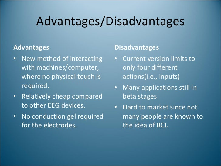 advantages and disadvantages of space programme