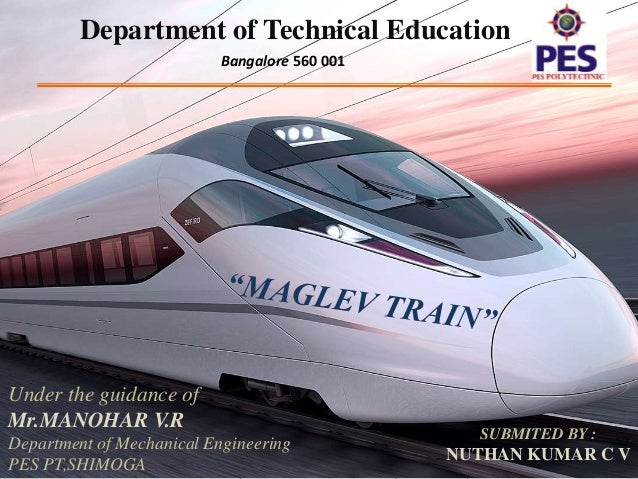 maglev train ppt nikki cv