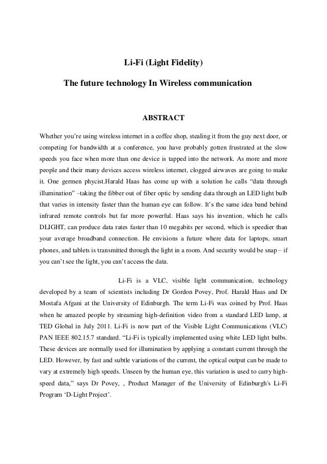 Cell communication essay