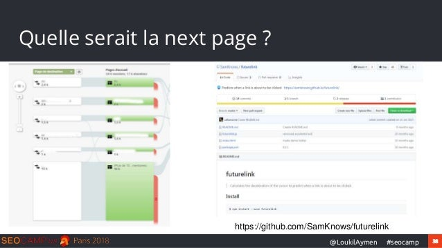 38#seocamp@LoukilAymen Quelle serait la next page ? https://github.com/SamKnows/futurelink