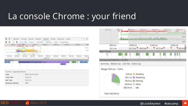 43#seocamp@LoukilAymen La console Chrome : your friend