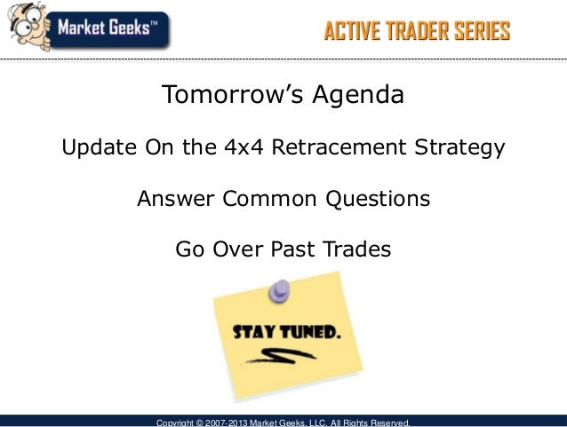 Common technical trading strategies