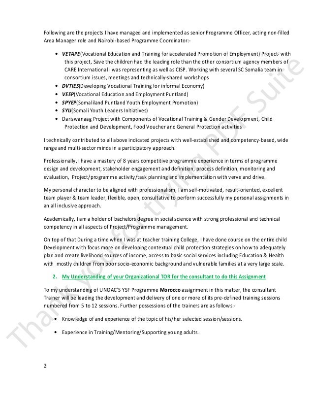 Awesome Teacher Trainer Cover Letter Ideas - Resumes & Cover Letters ...