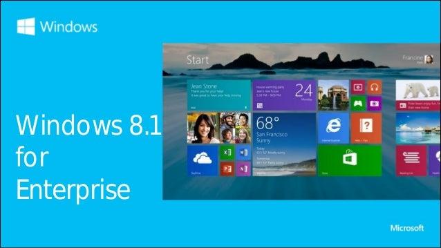 Windows 8.1 for Enterprise