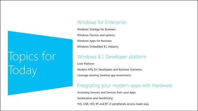 Microsoft technical webinar new devices for windows 8 and windows p windows 81 for enterprise 2 sciox Choice Image