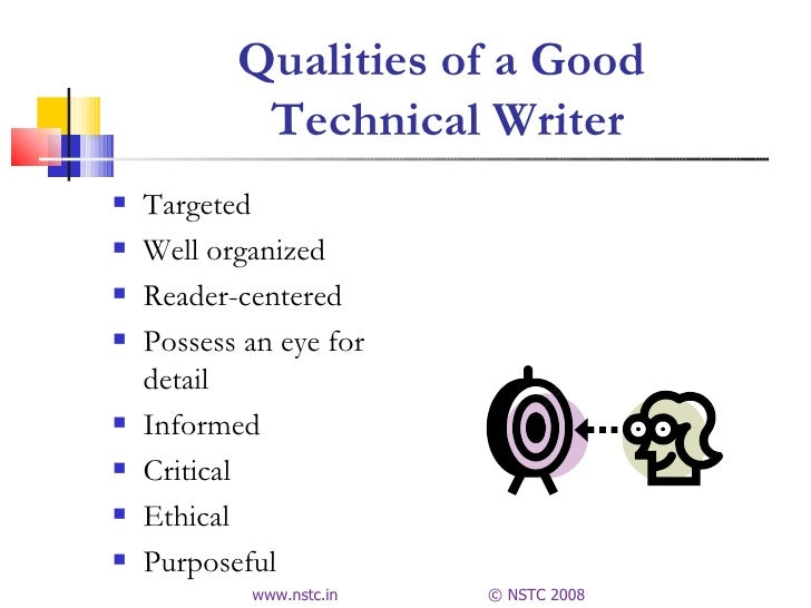 qualities of a writer