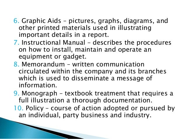 example of instructional manual in technical writing