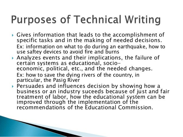 Technical writing on custom writings