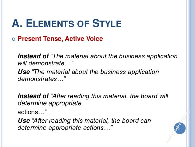 """elements of style in essay writing The most important rule of style in strunk and white's elements of style is number, """"omit needless words"""" this is professor strunk's advice regarding this rule: """"vigorous writing is concise."""