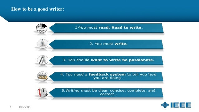 technical writing skills emails ieee cusb how to be a good writer 4 10 5 2014