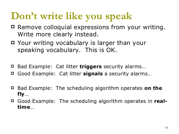 technical business writing tips