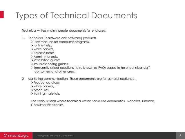 software for technical writing What is technical writing writing as creating manuals for computers and software, the practice of technical writing takes place in any field or.