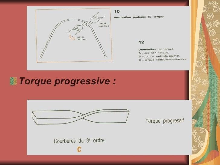 <ul><li>Torque progressive : </li></ul>