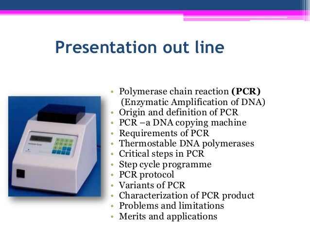 Technique of polymerase chain reaction (pcr) experimental biotechnolo…