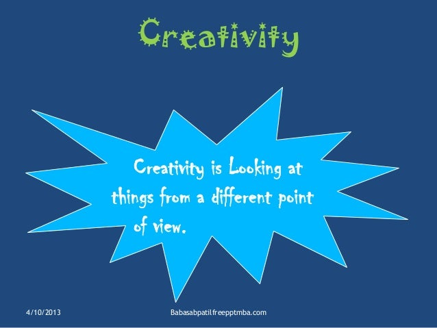 techniques for creativity ppt mba hr ppt