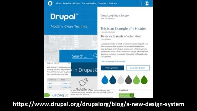 Techniques for Designing with Drupal 8