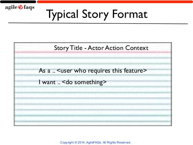 Techniques for Effectively Slicing User Stories by Naresh Jain